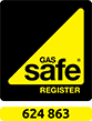 Gas Safe Registered - 624 863